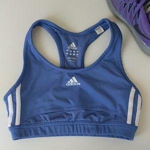 ⛹️♀️ Adidas Periwinkle Purple Sports Bra